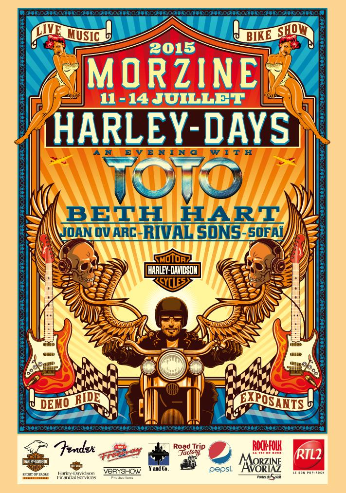 Harley-Days à Morzine [74] ROCKFOLKHARLEY